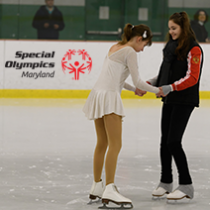 SOMD Figure Skating Team Makes a Difference in the Special Needs Community
