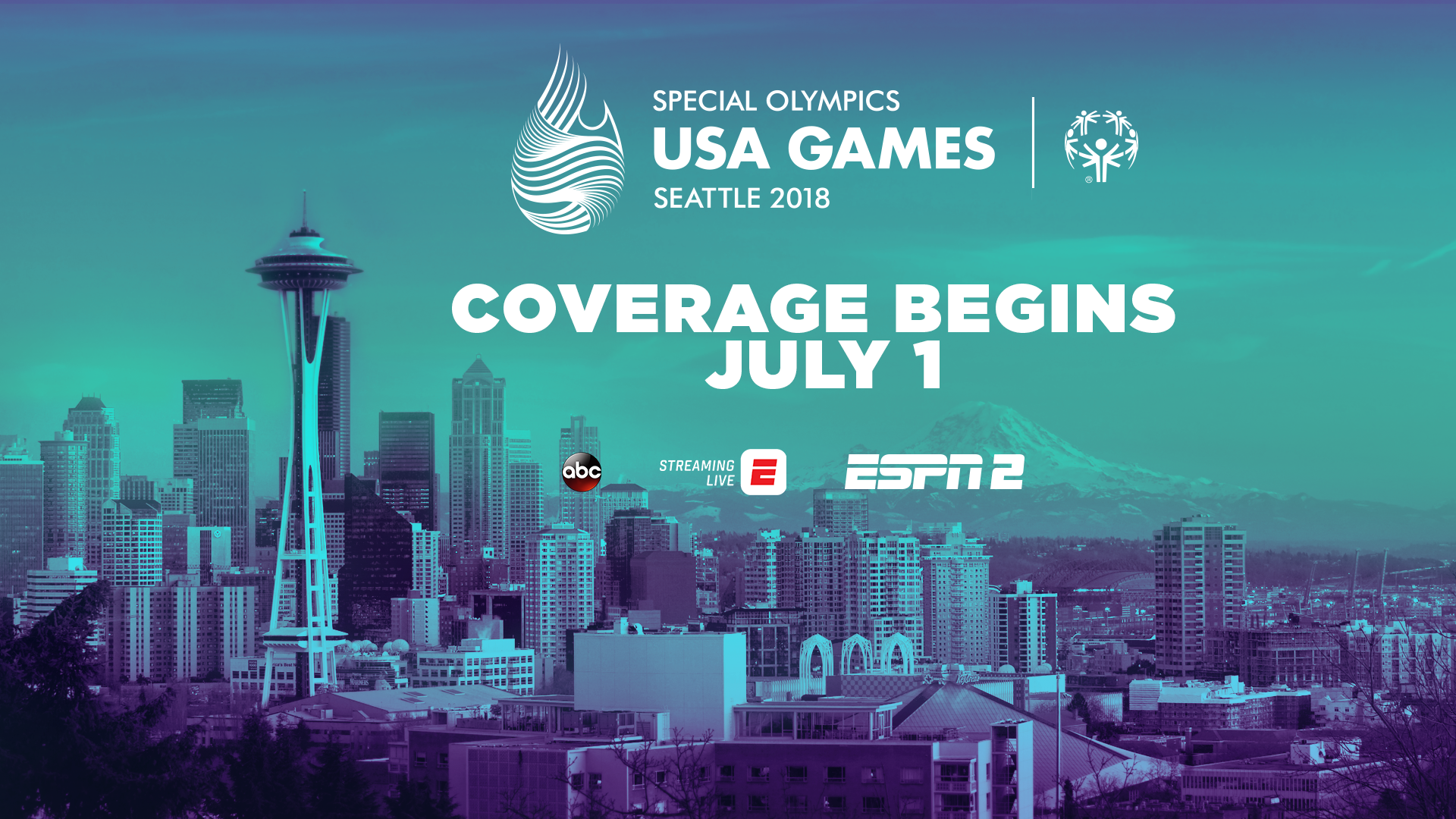 USA Games ESPN Coverage - Special Olympics Maryland