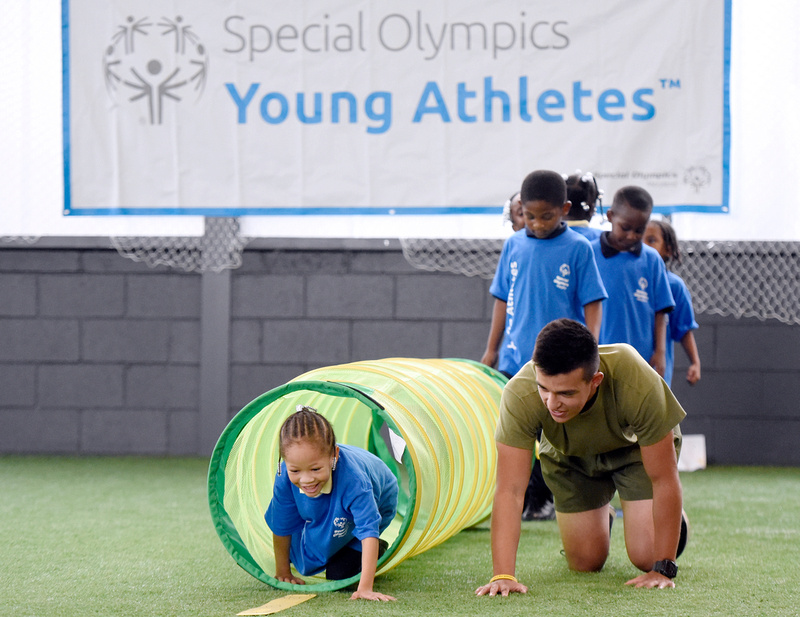 Special olympics young athletes — pic 13